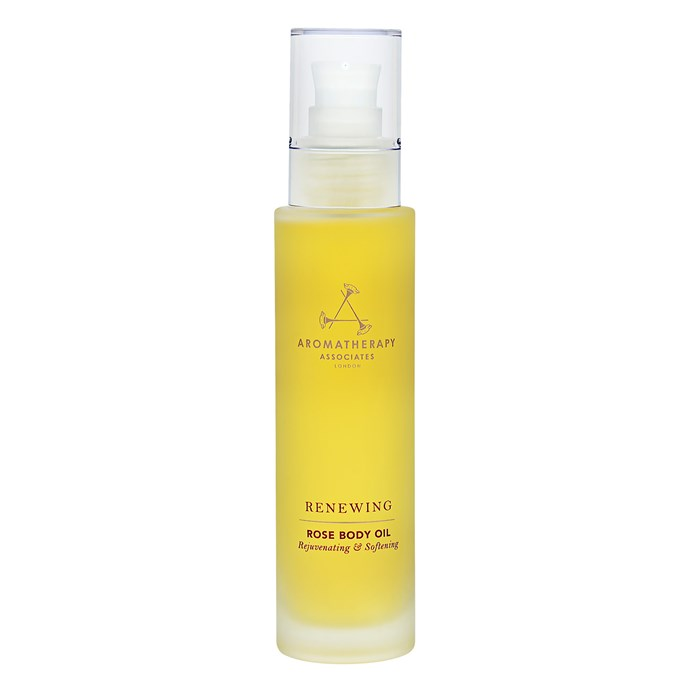 """**Best for relaxation**<br> *Aromatherapy Associates Bath & Body Renewing Rose Body Oil 100ml, for $72 at [allbeauty.com](http://www.allbeauty.com/au/en/1184416-aromatherapy-associates-bath-body-renewing-rose-body-oil-100ml?abref=GoogleShoppingCsAuGoogleAuBandgoogleAuS&utm_source=%7Badtype%7D&utm_medium=FREE&ref=%7Badtype%7D&gclid=EAIaIQobChMIwe3__dKZ4gIVEw4rCh0UNQAGEAQYBCABEgIG-vD_BwE target=""""_blank"""" rel=""""nofollow"""")*  <br> Rose oil has been proven to have stress and anxiety reducing properties, and can even help with insomnia. Added plus, this Aromatherapy blend contains neroli and geranium to increase the oil's ability to penetrate the skin and provide added nourishment."""