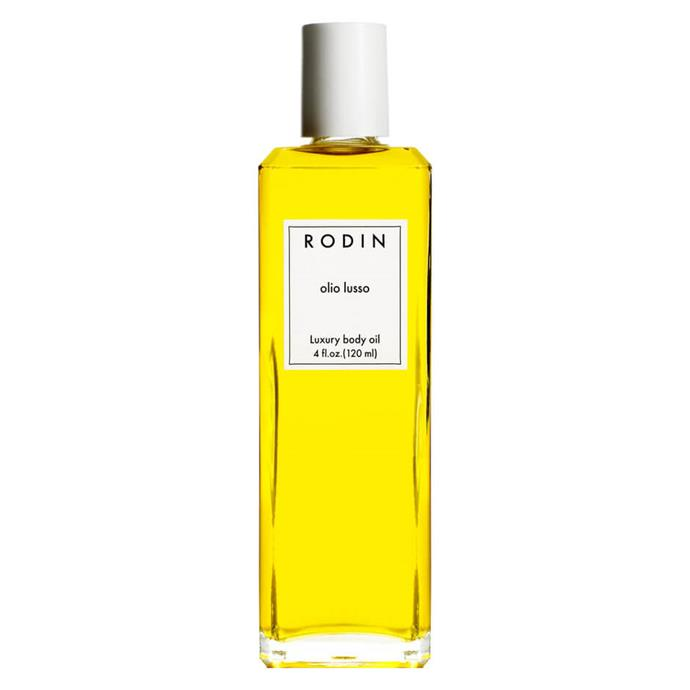 "**Best luxury buy**<br> *Rodin Olio Lusso Luxury Body Oil, for $208 at [mecca.com](https://www.mecca.com.au/rodin-olio-lusso/luxury-body-oil/I-024116.html|target=""_blank""