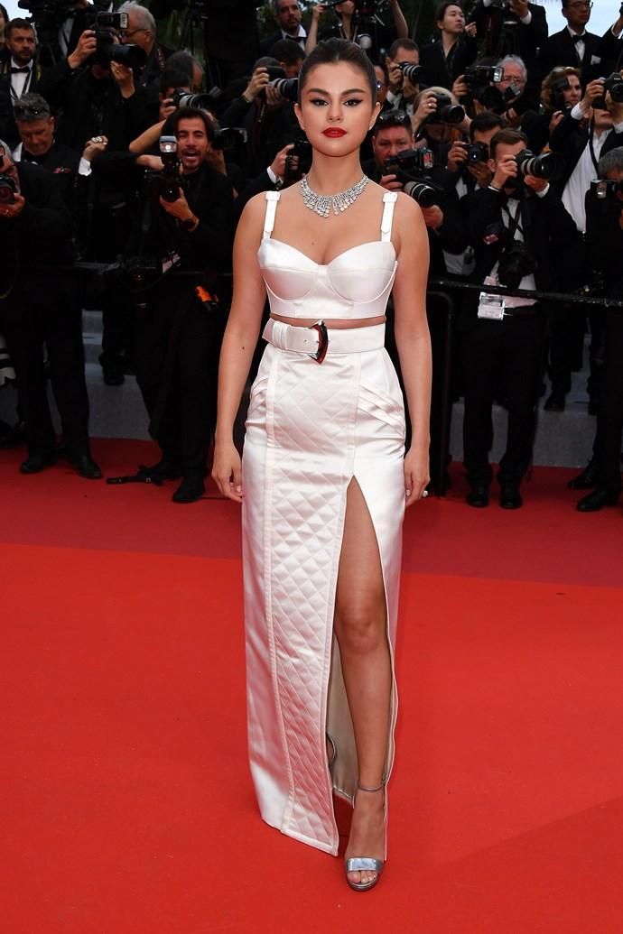 **Selena Gomez in Louis Vuitton**