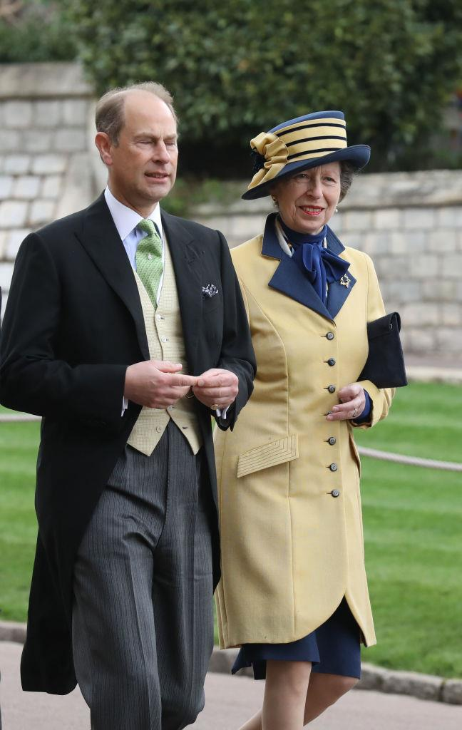 Prince Edward and Princess Anne.