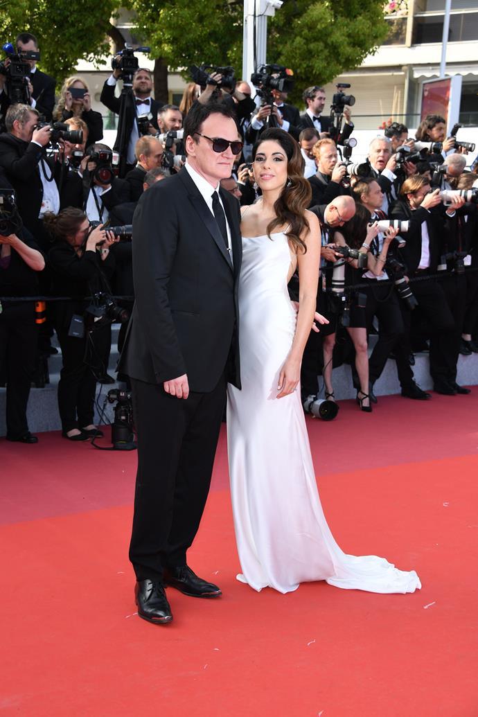 **Quentin Tarantino and Daniella Pick**