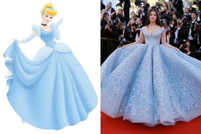 **Cinderella and Aishwarya Rai Bachan**