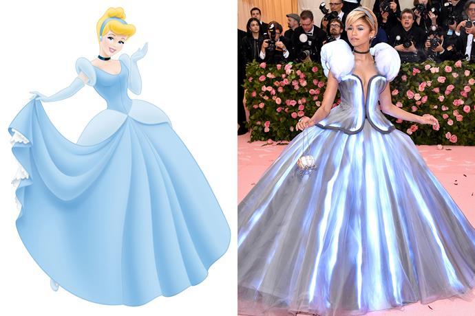 **Cinderella and Zendaya**