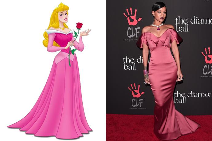 **Sleeping Beauty and Rihanna**