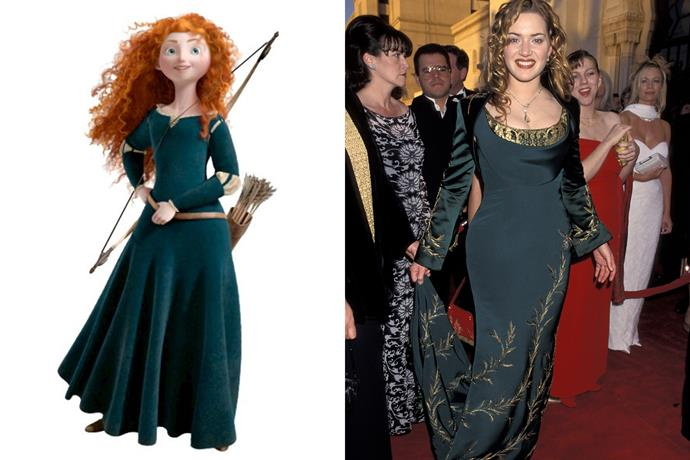 **Merida and Kate Winslet**