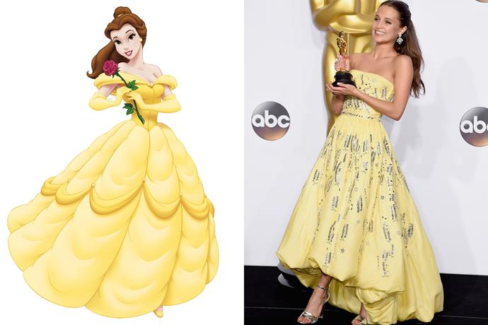 **Belle and Alicia Vikander**
