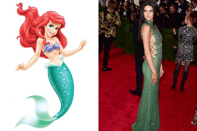 **Ariel and Kendall Jenner**