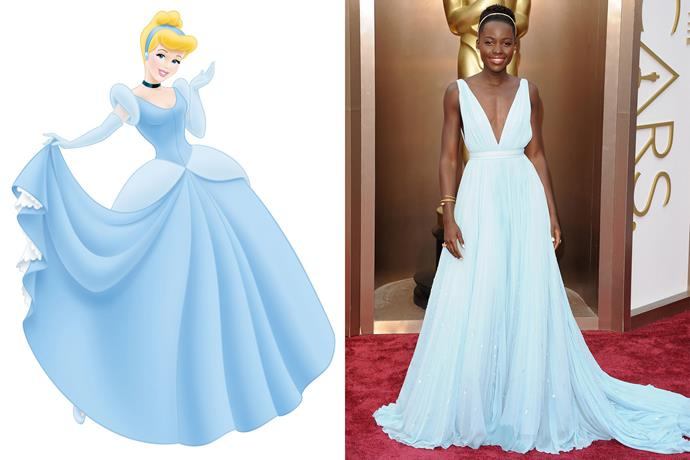 **Cinderella and Lupita Nyong'o**