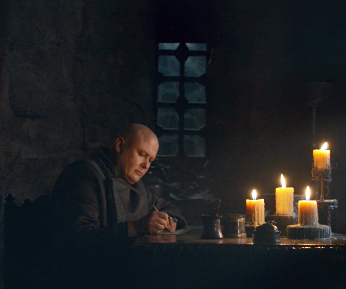 ***Who was Varys writing his letters to?***<br><br> Before Daenerys uses Drogon to barbecue him, Varys is seen writing letters to unknown recipients, telling him about Jon being the 'true heir.' And while we know that a few were actually sent, it doesn't appear that anything happened because of it. Who received them? What was the point of them?