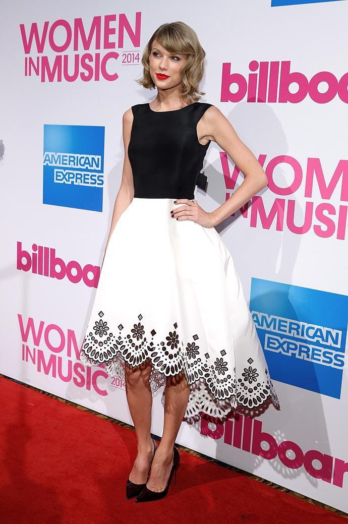 "**On owning her music and refusing to be questioned for it**<br><br>  After being named the Billboard Women Of The Year, Swift [spoke](https://www.billboard.com/articles/events/women-in-music-2014/6363514/billboard-woman-of-the-year-taylor-swift-on-writing-her|target=""_blank""