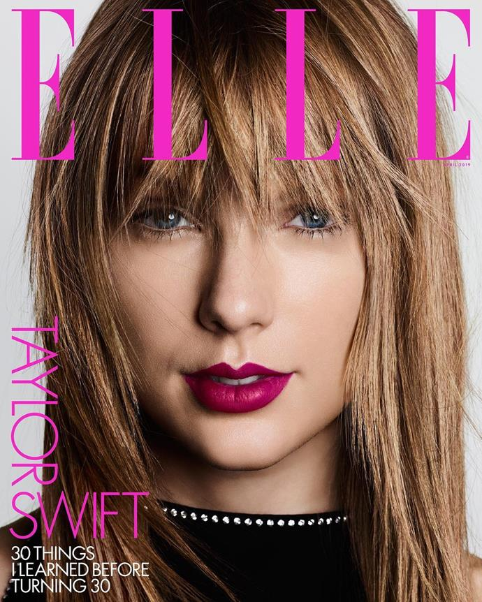 "**On the 30 things she learned before 30**<br><br>  Although it wasn't an interview or question, it was a case of Swift, yet again, using her voice for good. In the magazine, the *ELLE* US April cover star revealed 30 things she learned before turning 30, one of which addressed the way society shames women for ageing:<br><br>  ""I've learned that society is constantly sending very loud messages to women that exhibiting the physical signs of ageing is the worst thing that can happen to us,"" she wrote. ""These messages tell women that we aren't allowed to age. It's an impossible standard to meet.""<br><br>  *Image via [@elleus](https://www.instagram.com/elleusa/