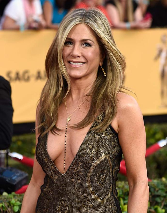"***Jennifer Aniston***<br><br> ""I don't have this sort of checklist of things that have to be done and if they're not checked then I've failed some part of my feminism or my being a woman or my worth or my value as a woman… Y'know, I've birthed a lot of things. I feel like I've mothered many things. And I don't think it's fair to put that pressure on people."" *The Today Show*, 2014."