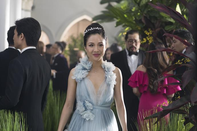 ***Crazy Rich Asians* (12/06/2019)** <br><br> This contemporary romantic comedy, based on a global bestseller, follows native New Yorker Rachel Chu to Singapore to meet her boyfriend's family.