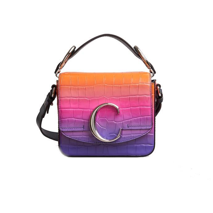 "Bag by Chloé, [available soon](https://www.chloe.com/au/mini-bag_cod45449902ti.html target=""_blank"" rel=""nofollow"")."