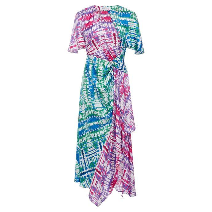 "Dress by Prabal Gurung, $1,667 at [Moda Operandi](https://www.modaoperandi.com/prabal-gurung-r19/tie-dye-asymmetric-midi-dress target=""_blank"" rel=""nofollow"")."