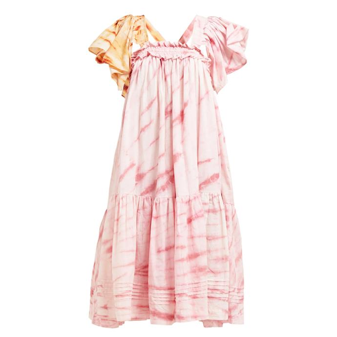 "Dress by Story MFG, $901 at [MATCHESFASHION.COM.](https://www.matchesfashion.com/au/products/Story-MFG-Aida-tie-dye-organic-cotton-dress-1273892|target=""_blank""