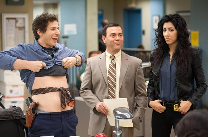 **Sagittarius (November 22 - December 21) -** ***Brooklyn Nine-Nine***<br><br>  Sagittarius may be in ninth place in the zodiac but they come first in 'fun'. Dynamic, impulsive and bursting with energy, Sagg will love the laugh-a-minute vibes of *Brooklyn Nine-Nine*.
