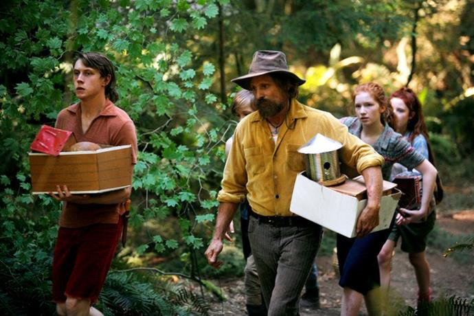 ***Captain Fantastic*** <br><br> Beloved by critics and audiences alike, this unique indie film follows a large family who choose to live off the grid in remote wilderness to avoid the harms of technology and foster an appreciation for nature. However, when the mother dies suddenly, her husband must take his children into the 21st century and integrate them into the modern world.