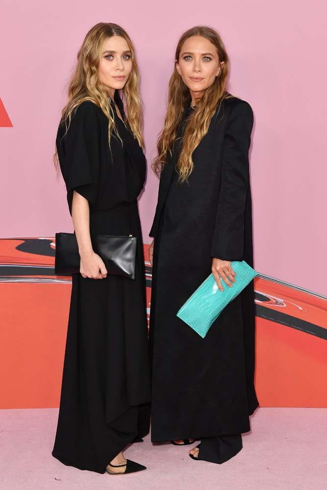 Mary-Kate and Ashley Olsen.