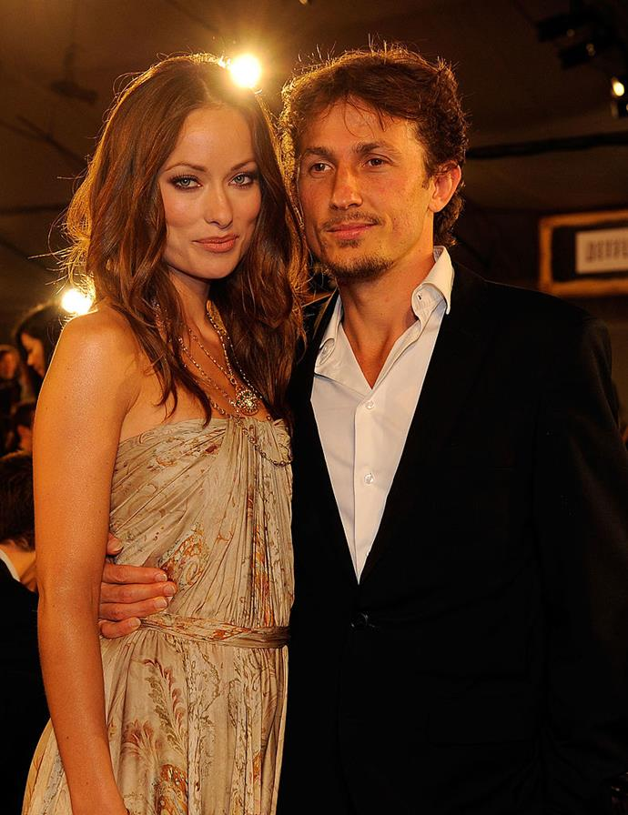 """**Olivia Wilde:** Now happily married to actor Jason Sudeikis with two children, Wilde actually spent the years from 2003 to 2011 married to Italian-American filmmaker Tao Ruspoli (pictured), who also happened to be a low-key Italian prince. Following their divorce, Wilde admitted in interviews that getting married at 19 was a big mistake. """"I really had a sense that I had stunted my growth. I think that's one of the things that made me feel so uncomfortable in my marriage. It was really no fault of my husband. It was me realising that I had sort of arrested development,"""" she said."""