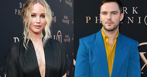 Exes Jennifer Lawrence And Nicholas Hoult Had A Moment At The 'Dark