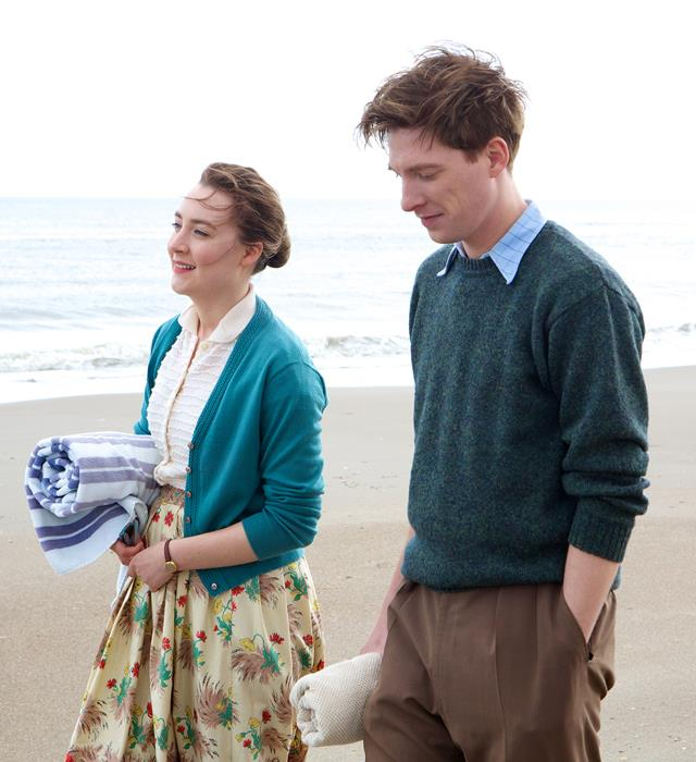 ***Brooklyn*:** In an Oscar-nominated acting turn, Saoirse Ronan portrays a young Irish woman who leaves everything she knows in Ireland to move to America and build a better life in the 1950s. Once there, she finds love and exciting change, but her longing for her past life gets in the way of her future.