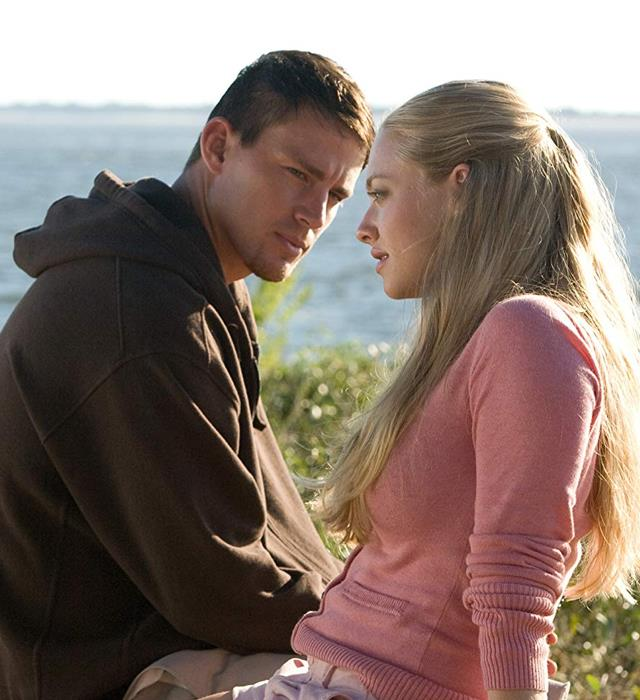 ***Dear John*:** When college student Savannah (Amanda Seyfried) meets soldier John (Channing Tatum), they fall instantly in love. But John's tour of service takes him far away to dangerous corners of the world, forcing them to communicate solely through letters. Can they make it through the emotional turmoil of a life spent apart?
