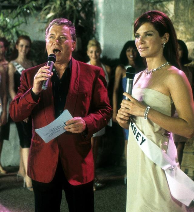 ***Miss Congeniality*:** An F.B.I. agent more concerned with wrestling bad guys to the ground than plucking her eyebrows is forced to go against everything she stands for when she's required to go undercover at a beauty pageant…as a contestant. Sandra Bullock at her career best.