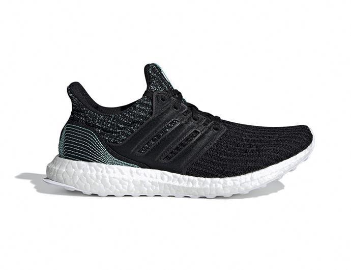 "[Adidas UltraBoost Parley shoes](https://www.adidas.com.au/ultraboost-parley-shoes/F36191.html|target=""_blank""|rel=""nofollow""), $240"