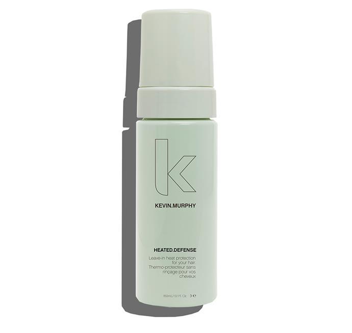 "Kevin Murphy Heated Defence, $39.95 at [Oz Hair & Beauty](https://www.ozhairandbeauty.com/products/kevin-murphy-heated-defense-150ml?utm_medium=cpc&utm_source=google&utm_campaign=Google%20Shopping&gclid=CjwKCAjw0N3nBRBvEiwAHMwvNkzX8cqeILKq2-sU4gZB6YwAcEy4VTBMJTnNjg4rA1vfrZAuddOajBoCgKAQAvD_BwE|target=""_blank""|rel=""nofollow"")"