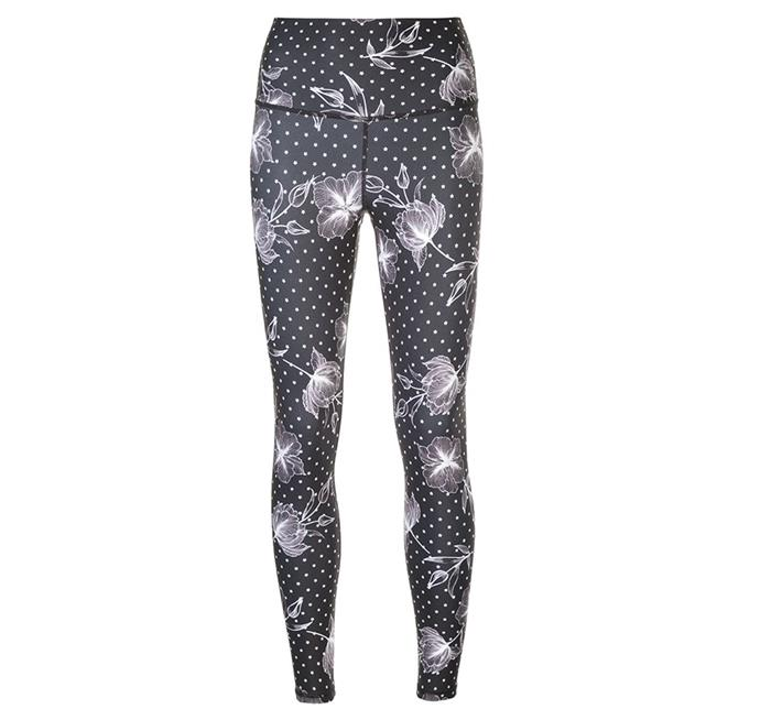 "[Nimble Activewear leggings](https://nimbleactivewear.com/collections/compresslite/products/high-rise-long-legging-star-and-floral-print|target=""_blank""|rel=""nofollow""), $99"