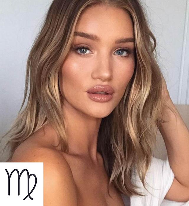 "**VIRGO: [THE SCANDI HAIRLINE](https://www.harpersbazaar.com.au/beauty/blonde-hair-trends-2019-18046|target=""_blank"")** <br><br> The immaculately groomed, perfectionist Virgo should embrace the Scandinavian approach to hair colour, with a warm base and what's described as a 'Scandi hairline', a face-framing strip of colour at the front of the head of hair that brings light to any complexion."