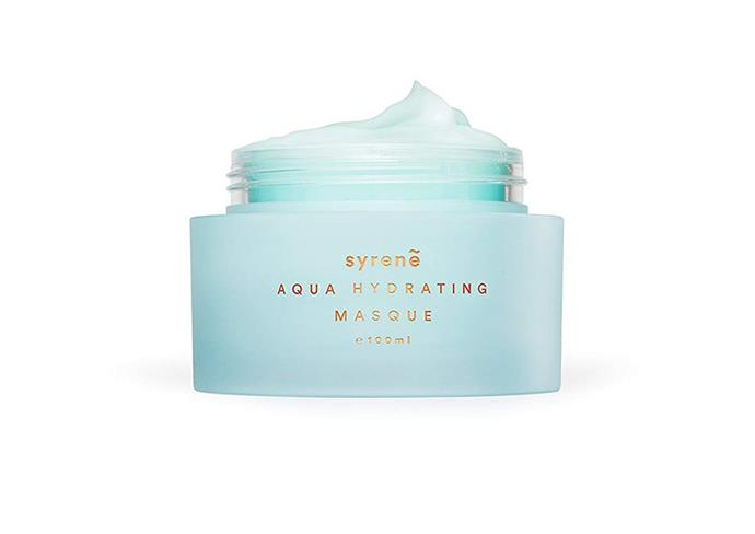 "[Syrene Skincare Aqua Hydrating Masque, $119.99](https://syreneskincare.co.nz/product/aqua-hydrating-masque/|target=""_blank""|rel=""nofollow"")"