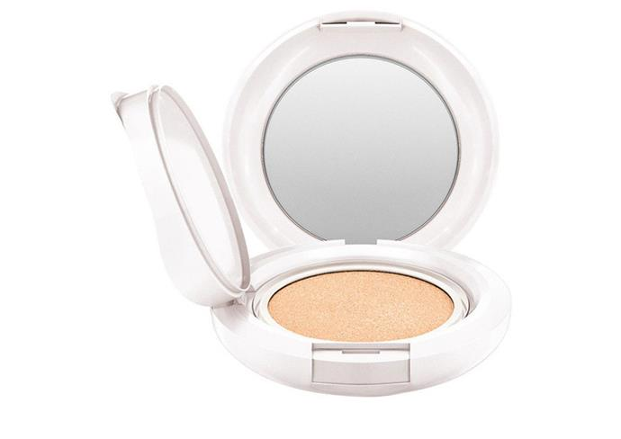 """MAC foundation with SPF 50+, $54 at [Myer](https://www.myer.com.au/p/mac-lightful-c-coral-grass-spf-50-quick-finish-cushion-compact-%EF%BF%BD-prefilled-refill-light?colour=Light%20Plus