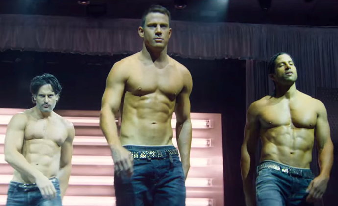 **The one when you want to let loose and feel single:** ***Magic Mike XXL***<br><br>  Whether you're in the mood to actually seek a rebound or just want a brief distraction from your woes, Channing Tatum and his shirtless squad are the best antidote.