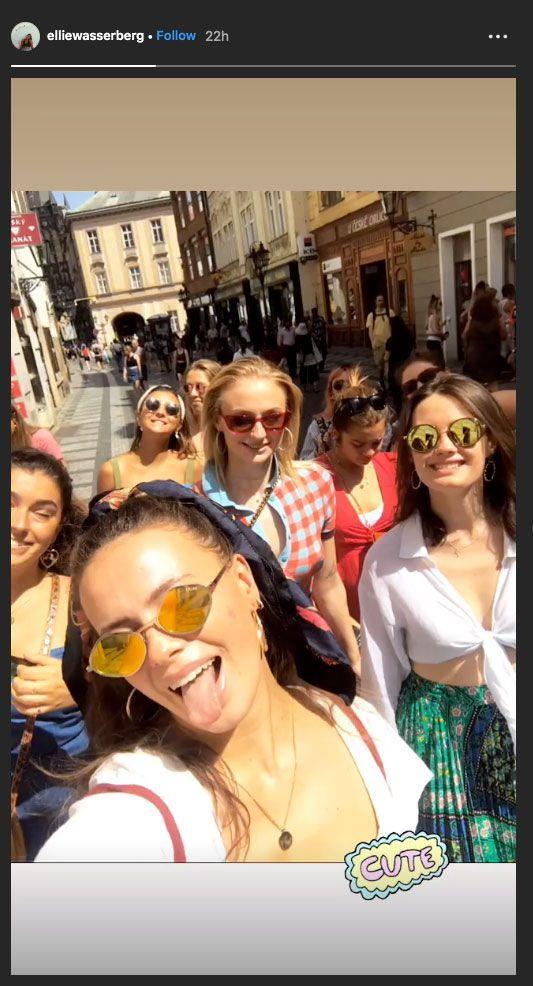 "**They did some sightseeing, too**<br><br>  From spas and wig parties to wandering the town, Turner and her hens also hit the the town of Benidorm for a bit of sightseeing.<br><br>  *Image via [@elliewasserberg](https://www.instagram.com/elliewasserberg/|target=""_blank""