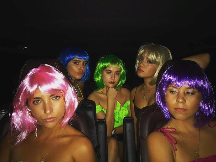 "**Then there was a wig party...**<br><br>  *Image via [@elliswasserberg](https://www.instagram.com/p/Byns4qrhpJ4/?utm_source=ig_embed|target=""_blank""