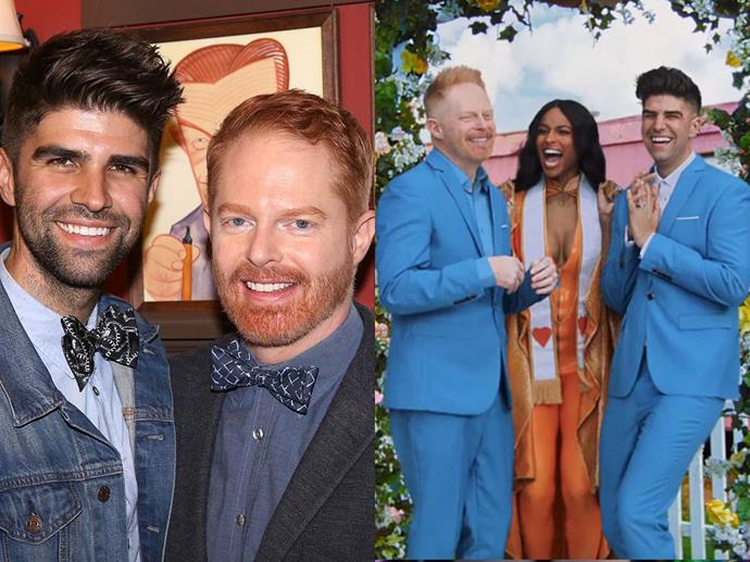 Jesse Tyler Ferguson and his husband, Justin Mitika