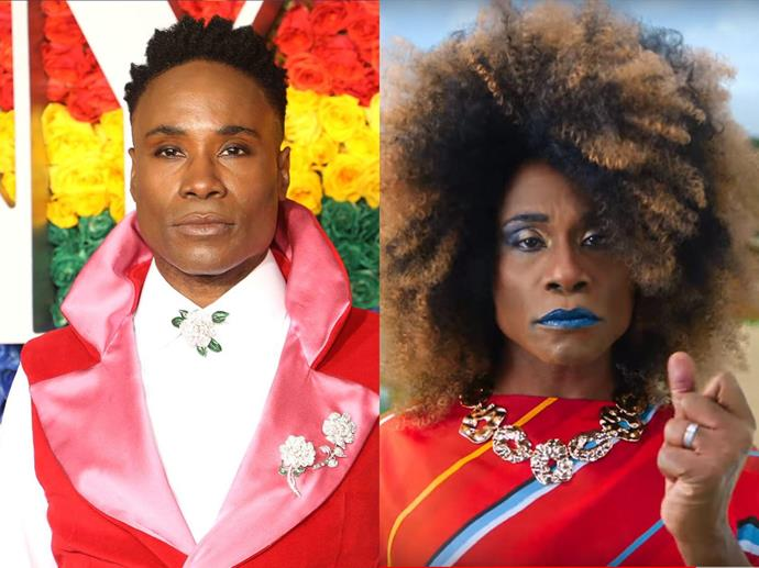Broadway performer Billy Porter