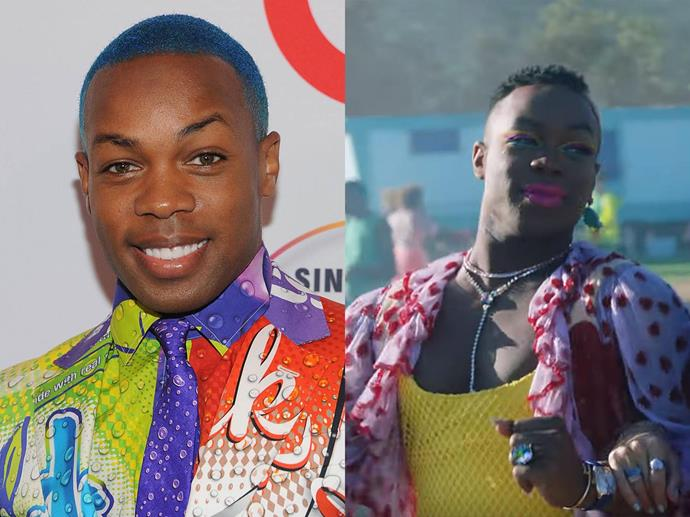 Singer and dancer Todrick Hall