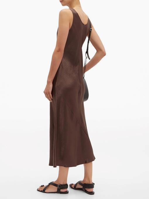 "Dress by Max Mara Leisure, $375 at [MATCHESFASHION.COM](https://www.matchesfashion.com/products/Max-Mara-Leisure-Talete-dress-1279259|target=""_blank""|rel=""nofollow"").<br><br> *Image via MATCHESFASHION.COM.*"