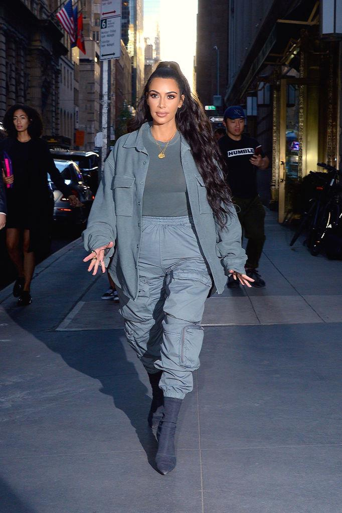 Kim Kardashian West in June 2018.