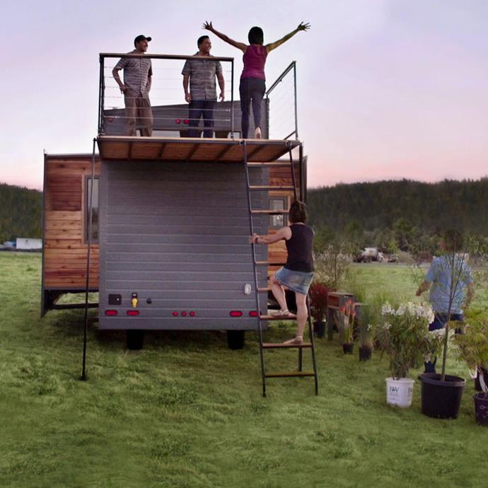 ***Tiny House Nation:*** In response to rising house prices in America, these ingenious home owners have found a way to transform compact cottages, containers and trailers into dream houses.