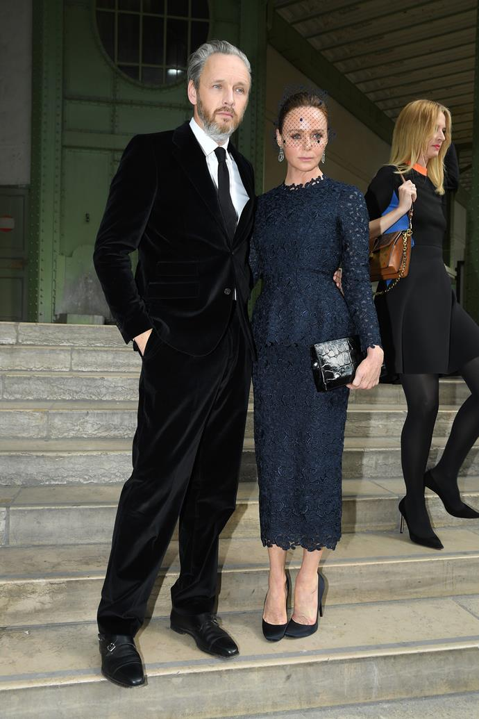 Stella McCartney and her husband, Alasdhair Willis.