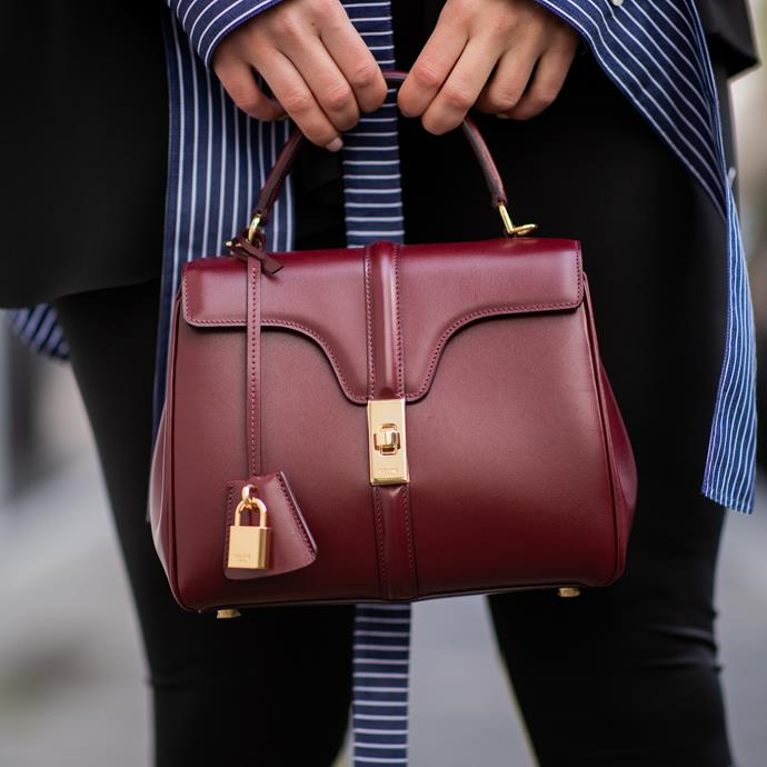 "**Scorpio: Celine '16' bag** <br><br> Celine's new It-bag is a shoe-in for the sexiest of the past year, and provides the perfect accompaniment to Scorpio's trademark sultriness. Case closed. <br><br> *$5,200 at [Celine](https://www.celine.com/en-au/celine-women/handbags/16/small-16-bag-in-satinated-calfskin-188003BEY.28LB.html|target=""_blank""