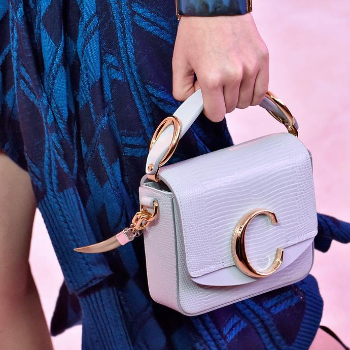 "**Sagittarius: Chloé 'C' bag** <br><br> As soon as the 'C' bag went down the runway, it instantly became a cool-girl must-have, with just the right amount of subtlety to pull inoffensive Sagittarians. <br><br> *$2,199 at [David Jones](https://www.davidjones.com/Product/22441717|target=""_blank""