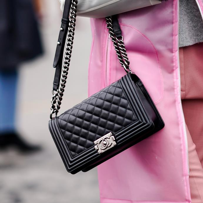"**Capricorn: Chanel 'Boy' Bag** <br><br> The 'Boy' bag was only launched in 2010, but is arguably already a classic. Capricorns usually live on the safer side of the fence when it comes to style, so this is perfect—and a tad more street-ready than the iconic 'Classic Flap' bag. <br><br> *$6,980 at [Chanel](https://www.chanel.com/en_AU/fashion/p/hdb/a67086y09953/a67086y0995394305/boy-chanel-handbag-calfskin-rutheniumfinish-metal-black.html|target=""_blank""