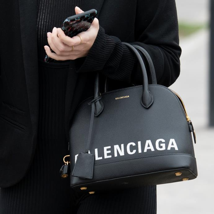 "**Aries: Balenciaga 'Ville' bag** <br><br> If anyone can pull off in-your-face, unabashed excess, it's Aries. Your Aries friends probably latched onto the logomania trend before anyone, so Balenciaga's 'Ville' bag is the perfectly opulent wardrobe addition. <br><br> *$2,117 at [MYTHERESA](https://www.mytheresa.com/en-au/balenciaga-ville-s-leather-tote-1017869.html?|target=""_blank""