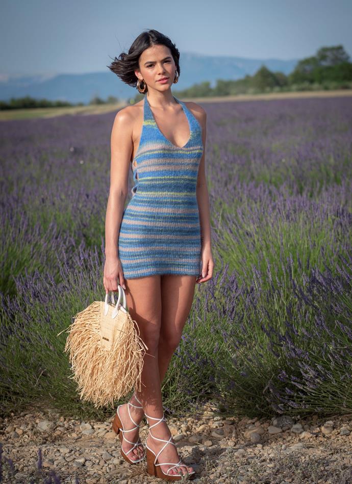 Bruna Maquezine at Jacquemus spring/summer '20.