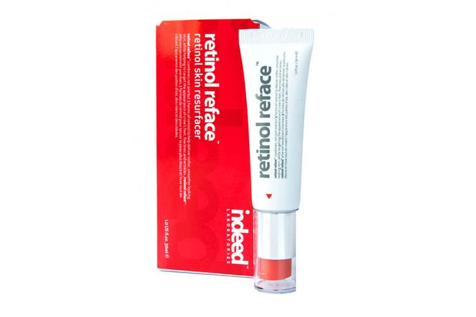 "**Retinol Reface, $34.99 at [Indeed Laboratories](https://www.indeedlabs.com.au/product/retinol-reface/|target=""_blank""